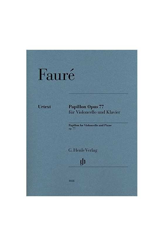Faure Papillon Opus 77...
