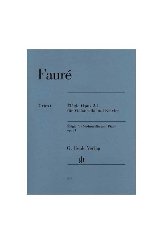 Faure, Elegie Opus 24 for...