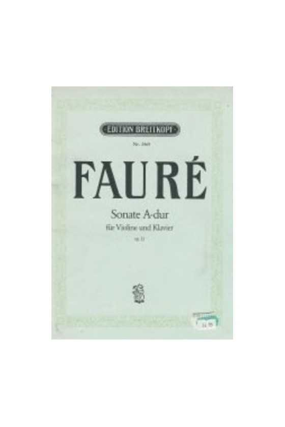 Faure, Sonata In A For...