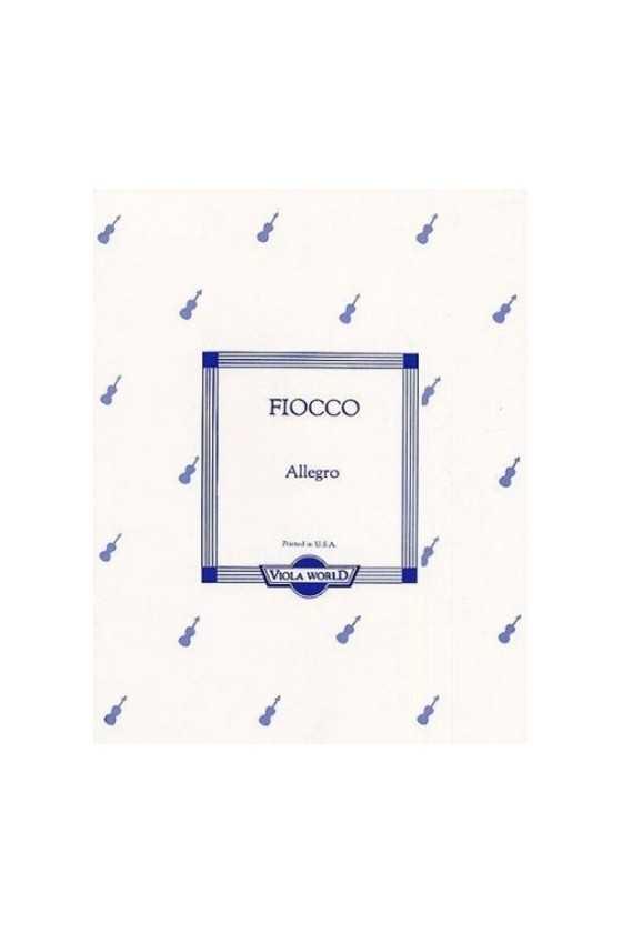 Fiocco, Allegro For Viola...