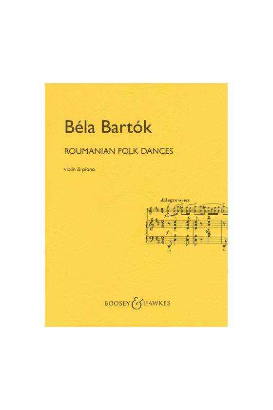 Bartok, Roumanian Folk...