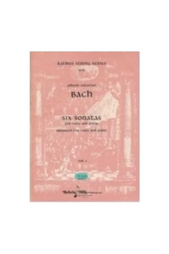 Bach, Six Sonatas For Viola...