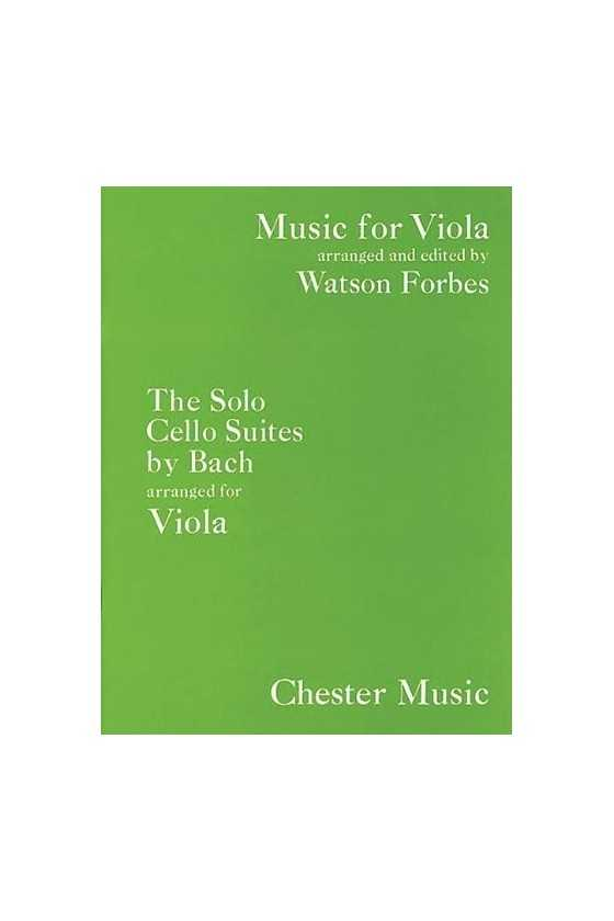Bach, Solo Cello Suites For...