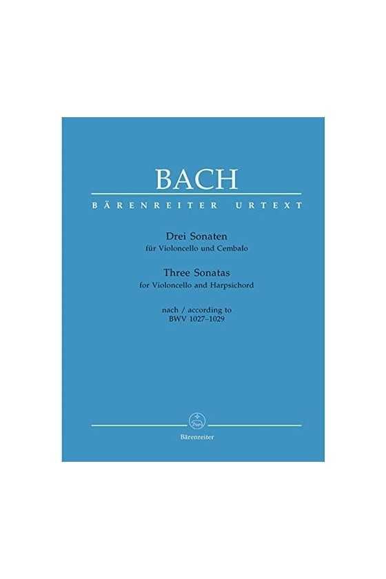 Bach, Three Sonatas For...