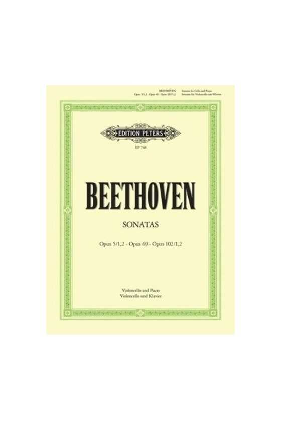 Beethoven, Cello Sonatas...