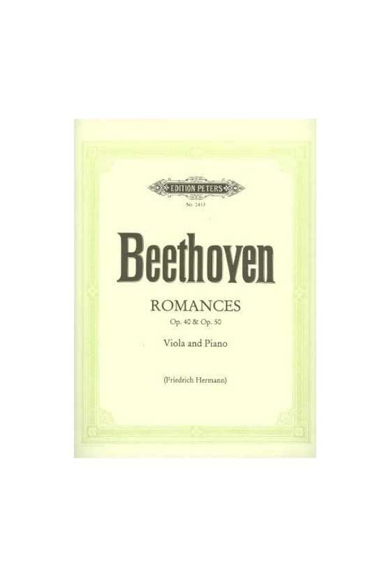 Beethoven, Romances Op. 40...