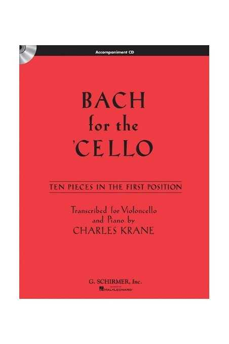 Bach for Cello 10 Pieces in 1st Position (Schirmer)
