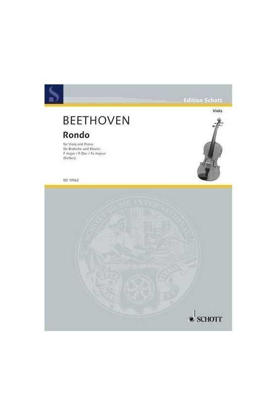 Beethoven, Rondo for Viola...