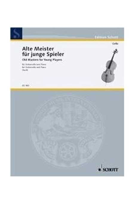 Alte Meister Fur Junge Spieler For Cello And Piano By Such
