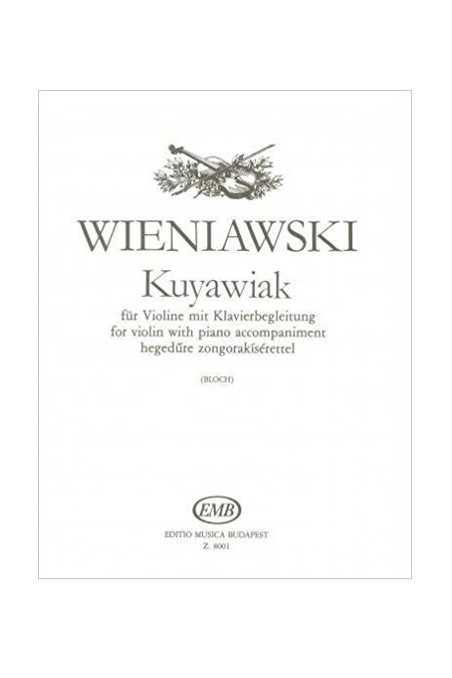 Wieniawski Kuyawiak For Violin (EMB)