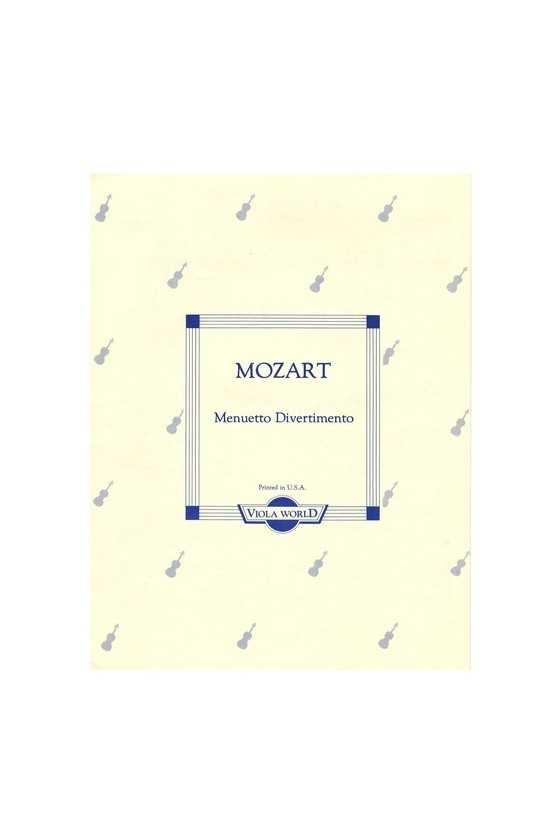 Mozart, Menuetto...