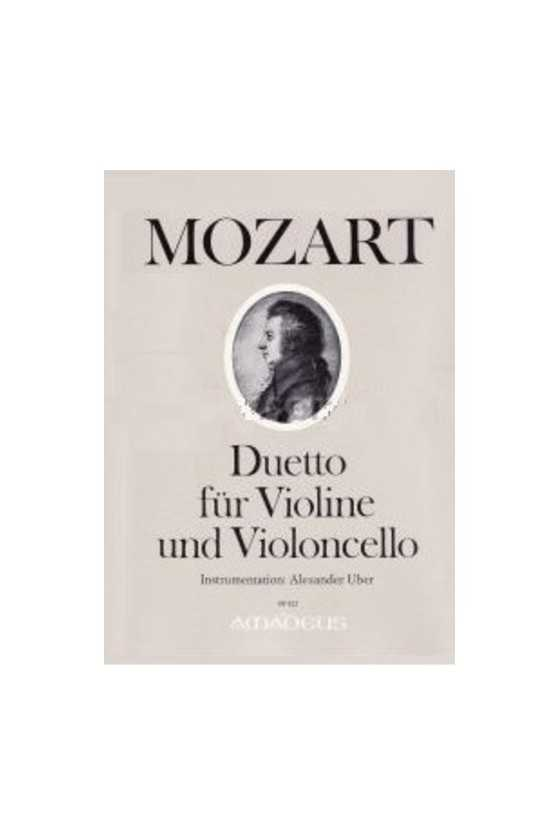 Mozart, Duet For Violin And...