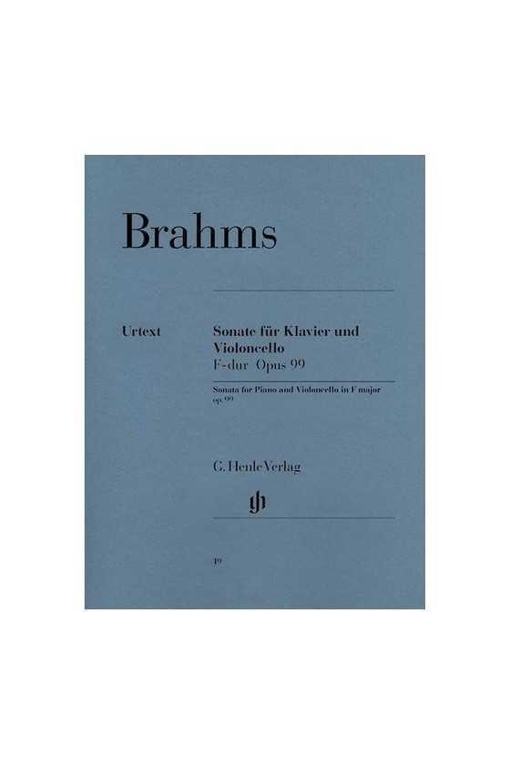 Brahms, Sonata In F Major...