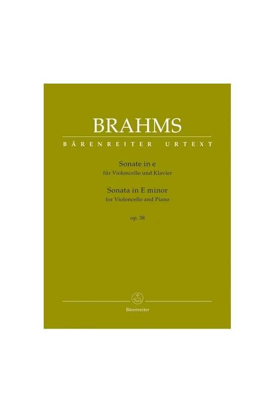 Sonatas In E Minor Op 38...