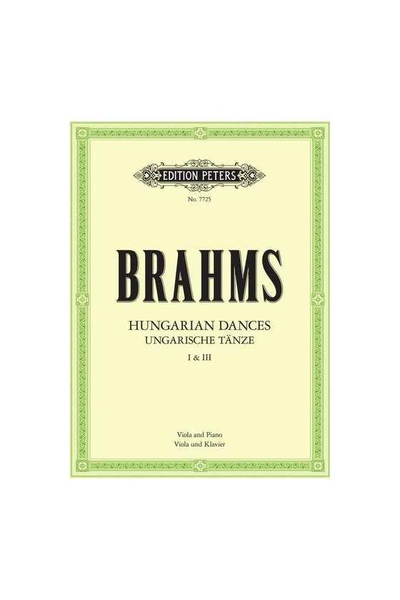 Brahms Hungarian Dances...
