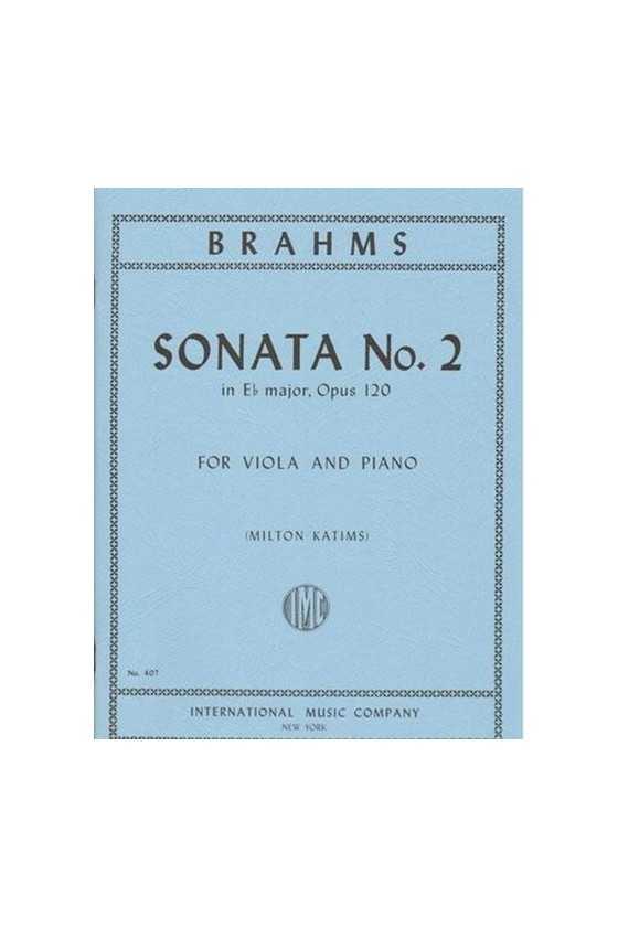 Brahms, 2 Sonatas Op. 120...