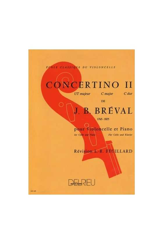 Breval, Concertino No2 in C...