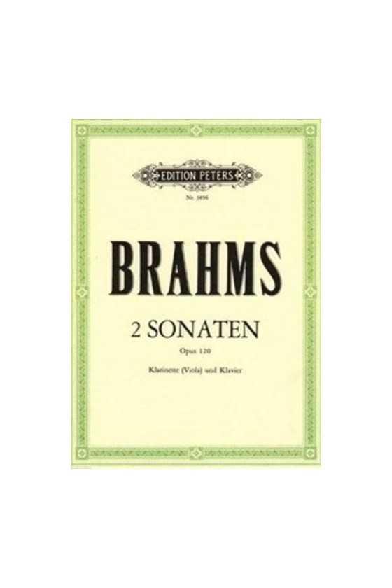 Brahms, Sonatas in F min &...