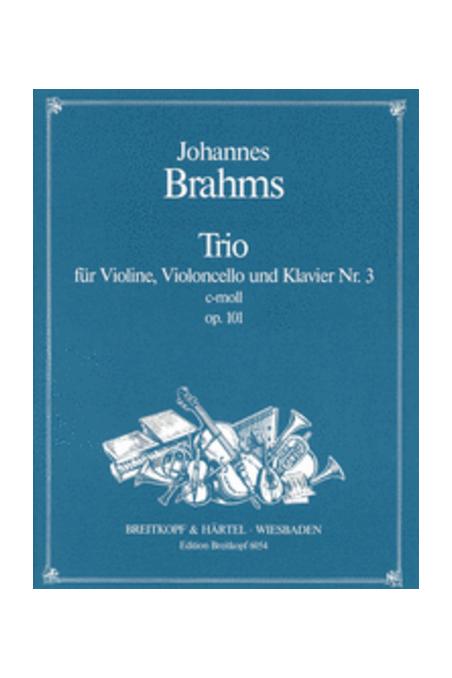 Brahms, Piano Trio In C Minor Op.101