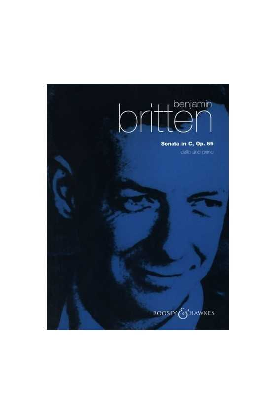 Britten, Sonata In C Op. 65...