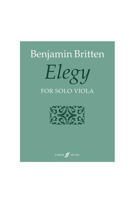 Britten, Elegy For Solo...