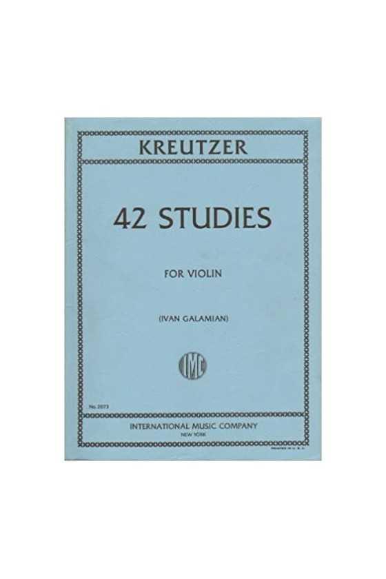 Kreutzer, 42 Studies For...