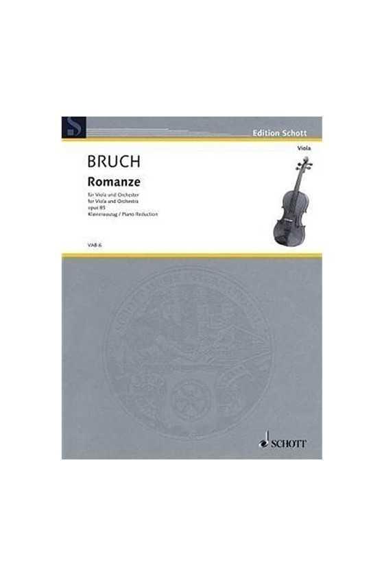 Bruch, Romanze In F Major...