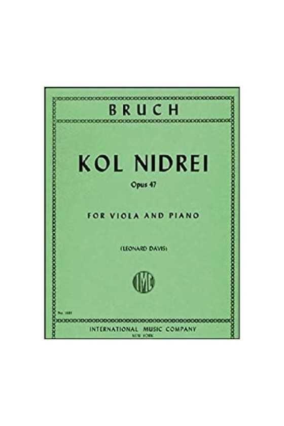 Bruch, Kol Nidrei For Viola...
