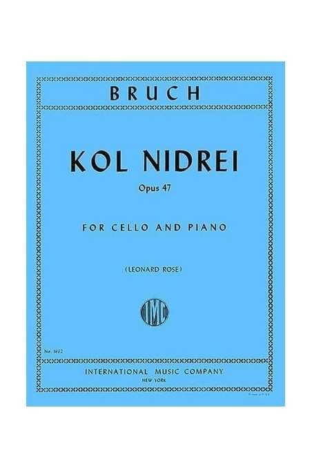 Bruch, Kol Nidrei Op.47 For Cello (IMC)