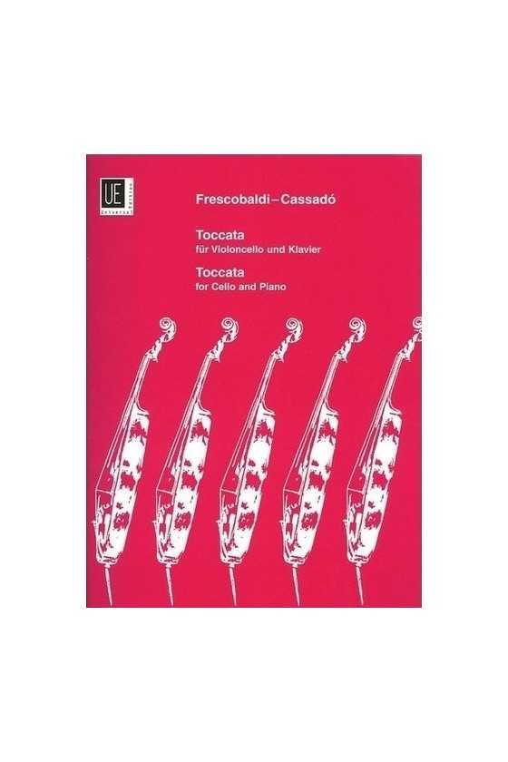 Cassado, Toccata for Cello...