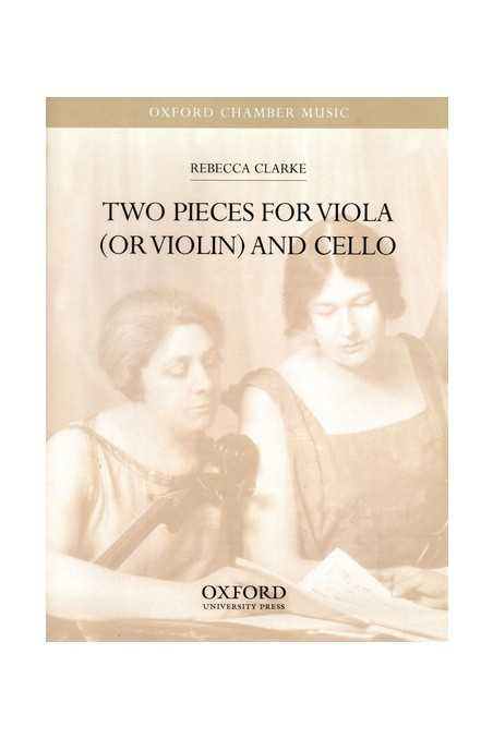 Clarke Two Pieces For Viola And Cello (Oxford)