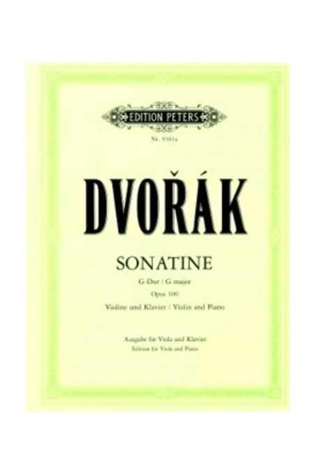 Dvorak, Sonatine For Viola (Peters)