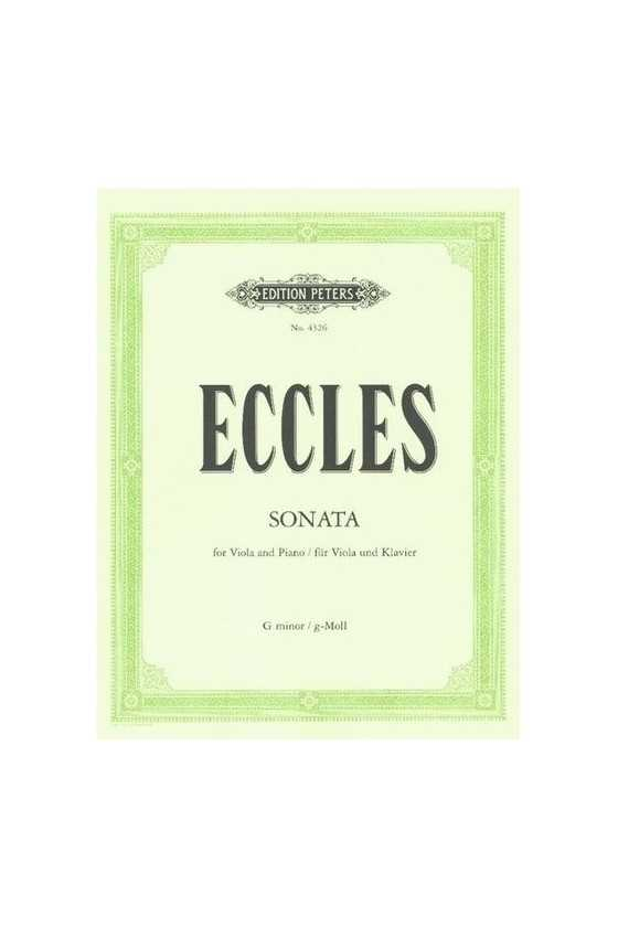 Eccles, Sonata in G minor...