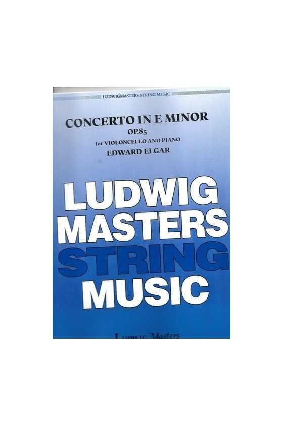 Elgar, Concerto In E Minor...