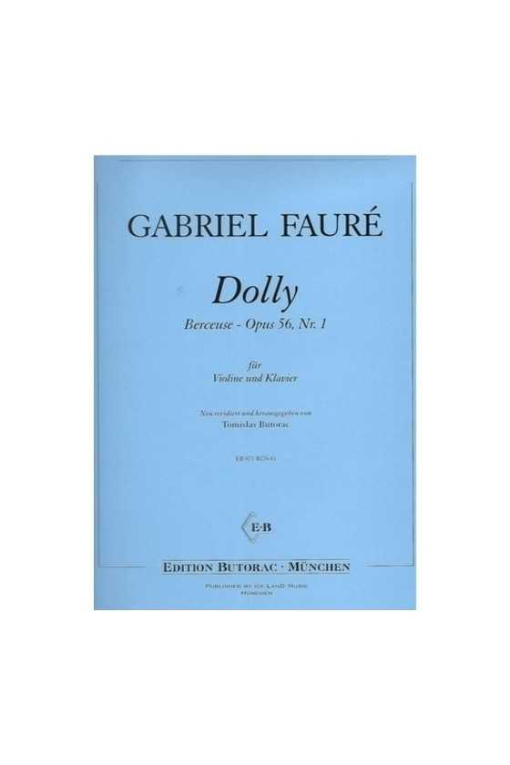 Faure-Berceuse From Dolly...