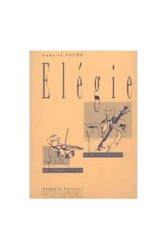 Faure, Elegie for Cello...