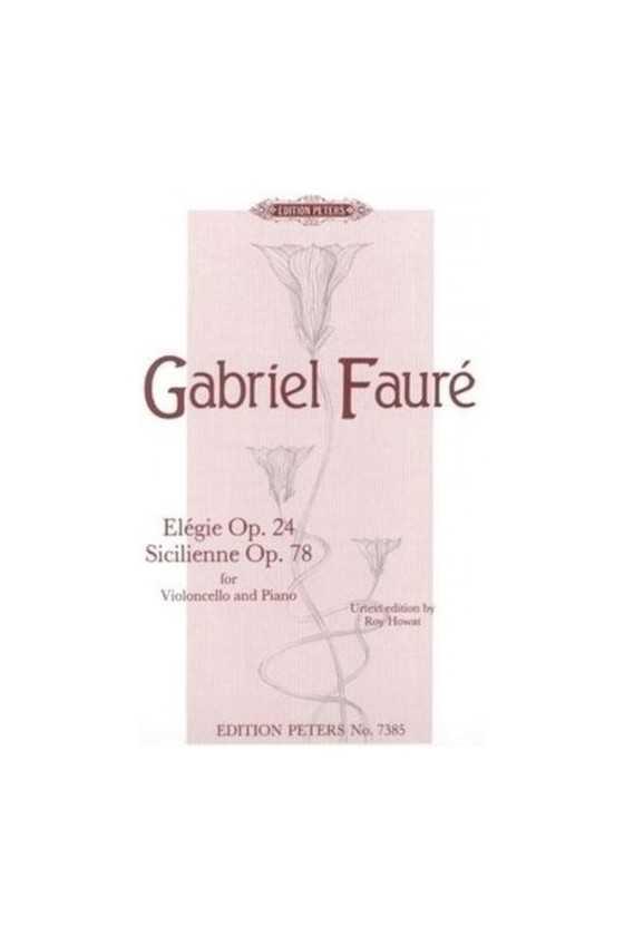 Faure, G. Elegie Op. 24...