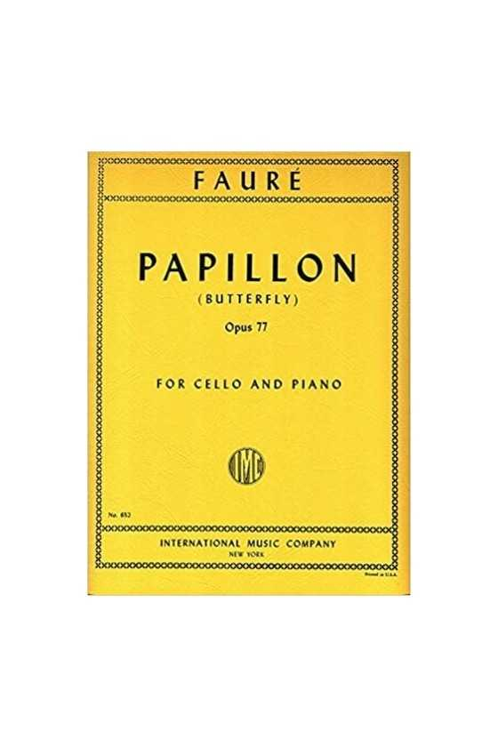 Faure, Papillon Op. 77 for...