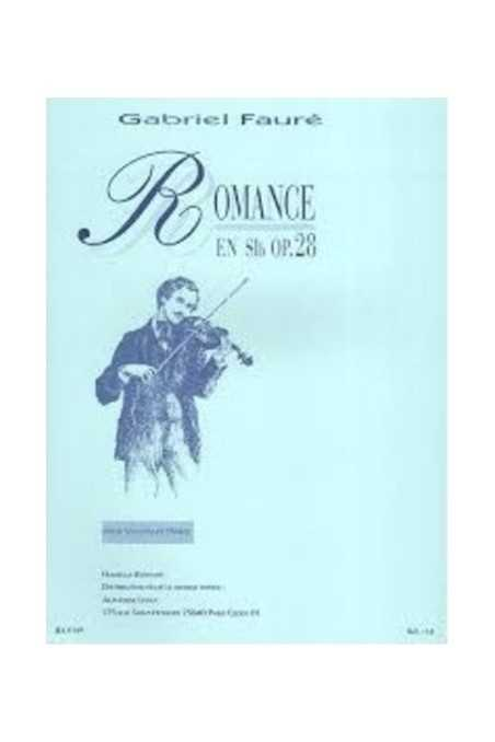 Faure, Romance For Violin & Piano (Hamelle)
