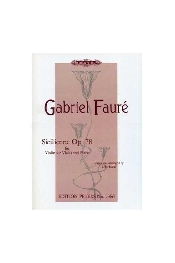 Faure Sicilienne Op.78 for...