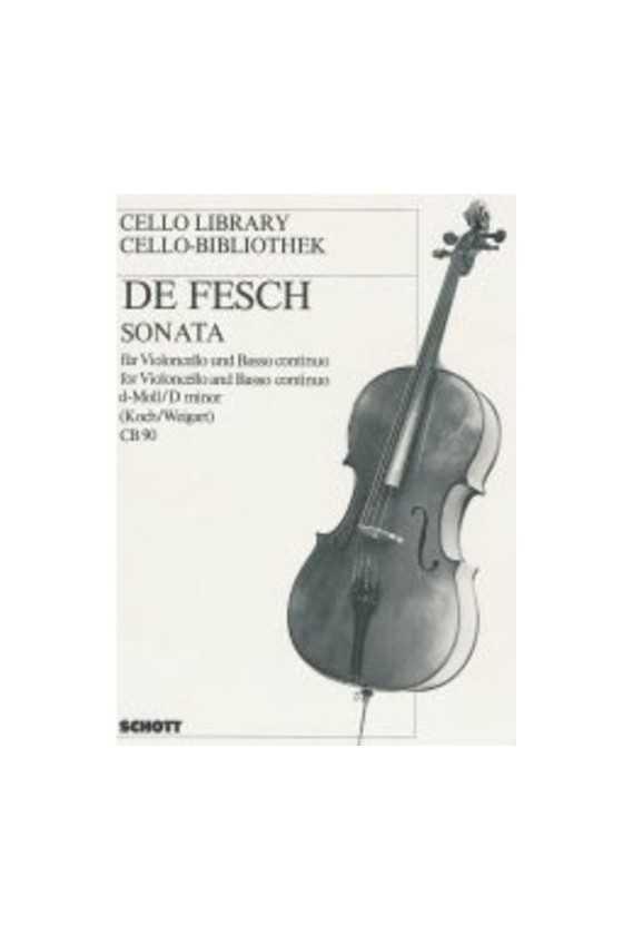 De Fesch, Sonata in D min...
