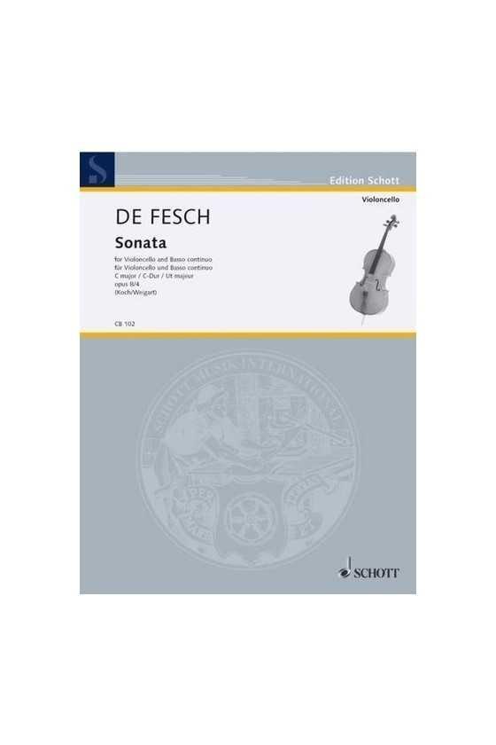 De Fesch, Sonata Op. 8 No....