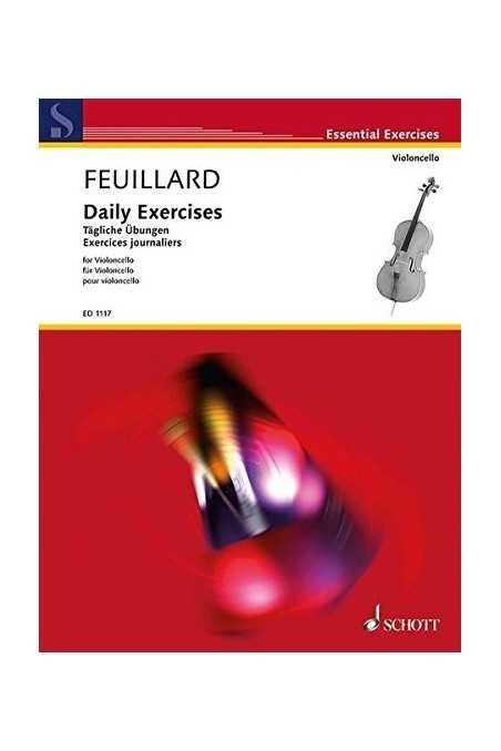 Feuillard, Daily Exercises For Cello (Schott)