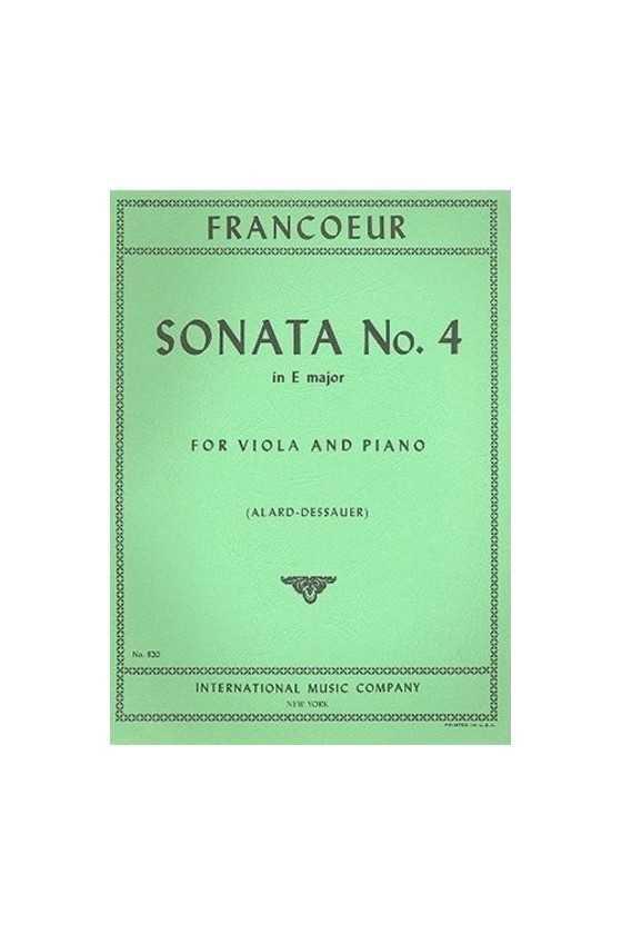 Francoeur, Sonata No. 4 in...
