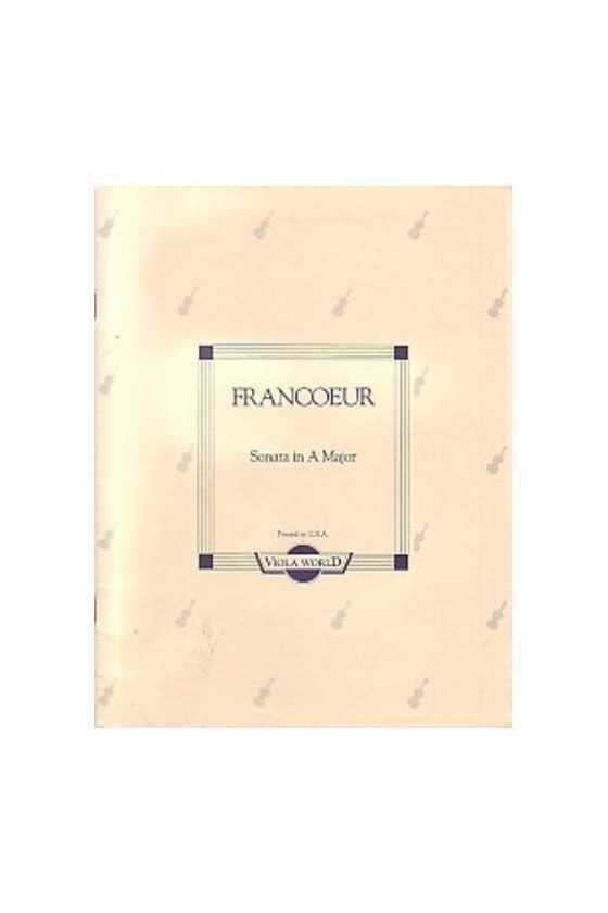 Francoeur, Sonata in A for...