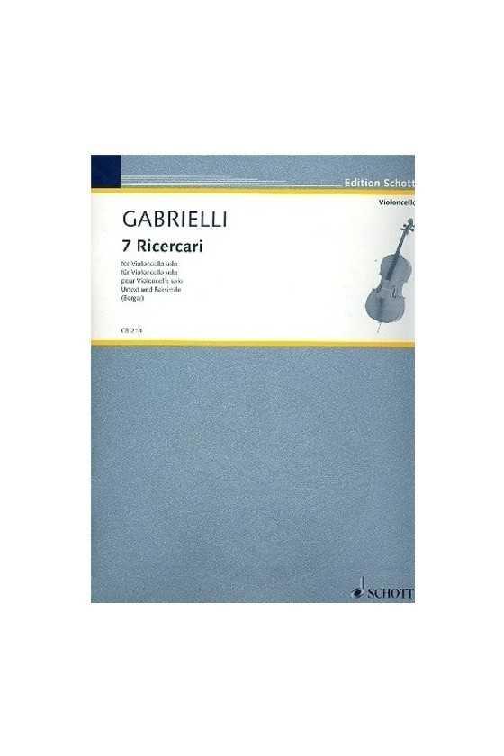 Gabrielli, 7 Ricercari for...