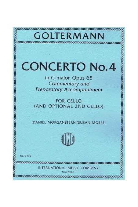 Goltermann, Cello Concerto No.4 In G Op. 65 (IMC)