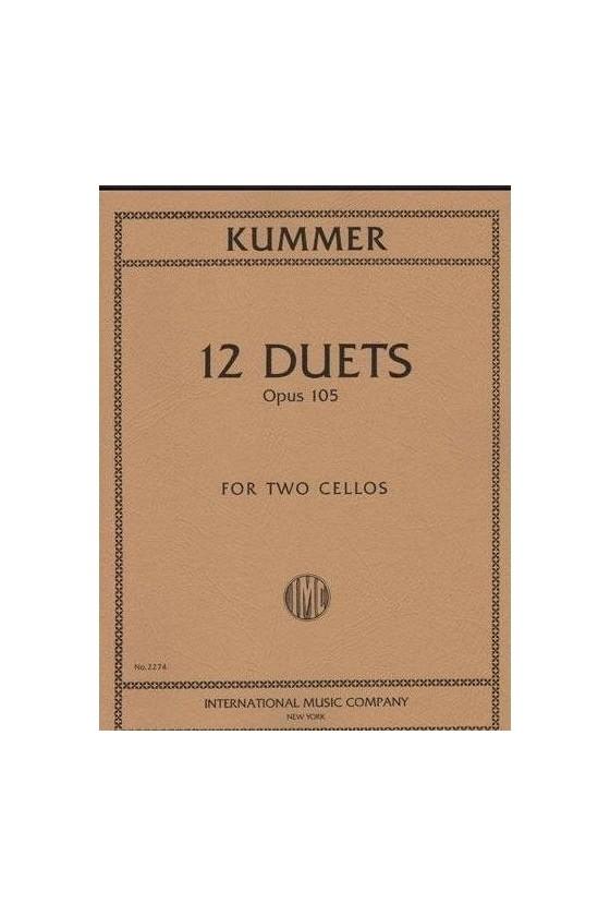 Kummer 12 Duets Op105 for...
