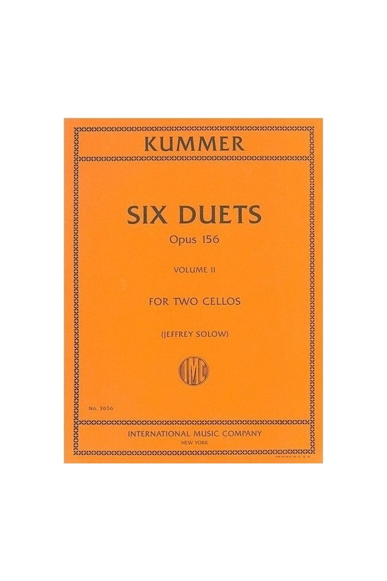 Kummer, Six duets for two...