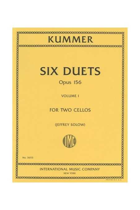 Six Duos For Cello Op. 156 Volume I (Nos. 1-3) By Kummer